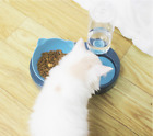 Automatic Pet Cat Bowl Food Drink Dispenser Dog Cat Feeder Water Bowl Dish UK