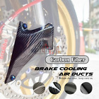100mm Carbon Fiber Brake Caliper Air Ducts for For BMW R1200GS LC ADV 12-18
