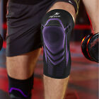 Comfortable Silicone Sports Knee Pads Sleeve Compression Stabilizer  Brace Gym