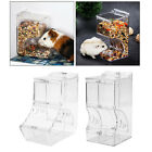 Birds Automatic Hamster Feeder Food Dispenser Feeding Bowl Pigeon Parrots