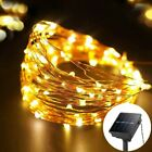 200/100 Led_Solar Power Outdoor String Fairy Lights Garden_Party Waterproof Lamp