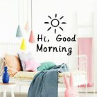 Cute Hi,good Morning Home  Modern Acrylic Decoration For Kids Room Decoration