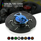 Motorcycle CNC Keyless Tank Fuel Gas Caps Cover for BMW S1000RR S1000 HP4 10-20