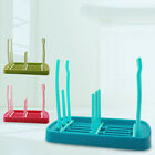 Foldable Drain Stand Baby Bottle Multifunctional Drying Rack Cups Triplex Row