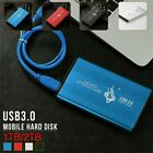 "Portable USB 3.0 2TB 1TB External Hard Drive Disks HDD 2.5"" Fit For PC Laptop"