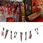 Halloween Flag Bloody Weapons Garland Banner Halloween Party Hanging Decor