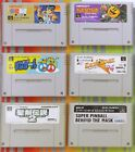 Super Famicom Games Authentic Japan Imports / Cleaned / Tested $5-30 Good Labels