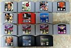 Nintendo 64 Games / Games Only / **ALL HAVE BEEN TESTED & ARE WORKING**