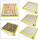 42/56 Eggs 360 Rotary Egg Incubator Hatcher Hatching Tray Automatic Turning