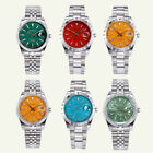 New Parnis 39mm sapphire glass silver Case 21 Jewels miyota automatic mens watch