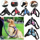 No Pull Adjustable Dog Pet Vest Harness Quality Nylon Vest US Stock
