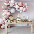 100 pcs Balloons + Balloon Arch Kit Set Chrome Macaron Baloons Wedding Garland