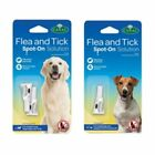 Canac Flea Tick Spot On Drops Small Large Dog Puppy 4 Week Treatment Solution