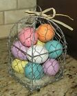 Easter Spring Eggs Basket Sign Tiered Tray Decor Martha Stewart Fao Table