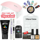 DIY Poly Gel Kit Nail Extension Gel Decoration Set Nail Salon