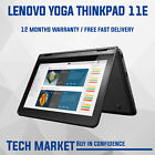 LENOVO YOGA THINKPAD 11E CHROMEBOOK WITH TOUCH SCREEN AND PLAY STORE