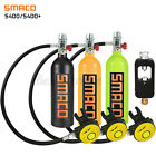 SMACO Scuba Oxygen Cylinder 1L Air Tank Scuba Diving Equipment Underwater Breath