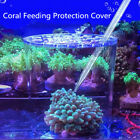 Acrylic Coral Feeding Protection Shield Cover for Aquarium Fish Tank Feeder
