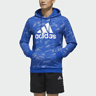 adidas Essentials Allover Print Hoodie Men's