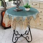 New  Tablecloth Pastoral Round Tablecloth Dining Table Cloths Home Embroidery