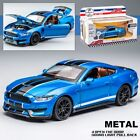 1:32 Ford Mustang Shelby GT350 Supercar Car Model Sound&Light toy Gift Kids