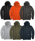 Carhartt Men's Midweight Hooded Sweatshirt Zip Front Long Sleeve Workwear Hoodie