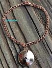 60th BIRTHDAY GIFT 1961 PENNY CHARM COPPER SOLID CHAIN BRACELET OR PICK ANY YEAR