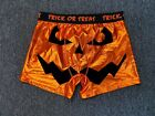 Mad Engine Trick Or Treat Halloween Men's Orange Underwear