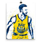 Stephen Curry The Bay Golden State Warriors Poster FREE US SHIPPING