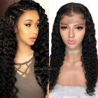 Lace Frontal Wig Curly Malaysian virgin remy Human wigs Hair Wigs Pre Plucked
