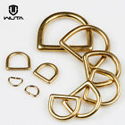 Solid Brass Rigging Dee Ring Buckle For Horse Saddle Tack Breast Collar Strap