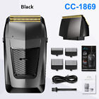 All IN Electric Bald Head Trimmer Hair Clipper Mens Twin Blade Foil Shaver L2646