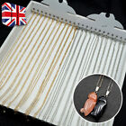 12pcs 5m Cable Jewellery Making Silver Plated Necklace Chains Clasps Lobster Uk