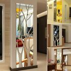 Acrylic Mirror Wall Sticker Self-adhesive Decals Home Living Room Decorations