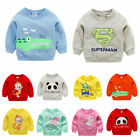 1pc baby girls boys clothes cotton tops pullover outerwear baby sweater Tee