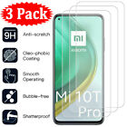 3Pack For Xiaomi Mi 11 Lite 10T Pro 9T A3 A2 8 9 Tempered Glass Screen Protector
