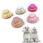 Pet Dog Cat Puppy Lovely Hairpin Sequin Top Hat Hair Clip Grooming AccessoriUUMW