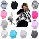 Nursing Scarf Cover Up for Breastfeeding Baby Car Seat Stroller Canop