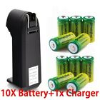 30PCS 3.7V Rechargeable CR123A Batteries for Netgear Arlo Security Camera Toy US