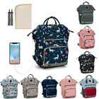 LEQUEEN Mummy Nappy Diaper Bag Nursing Baby Care Backpack Safe and Anti-theft