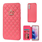 For Samsung S21 Ultra Note 20 S20 A12 A32 A52 A72 5G Wallet Leather Case Cover