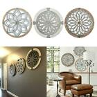 Hollow Flower Pattern Home Wall Art Home Decor Indoor Ornament Outdoor