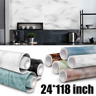 Marble Contact Paper Self Adhesive Waterproof Wall Sticker Kitchen Home Decor Us