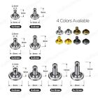 100sets Double Cap Rivets for Leather-crafts 5mm, 6mm, 7mm, 8mm, 9mm, 10mm, 12mm