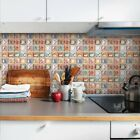 10 Pieces 3d Retro Mosaic Crystal Tile Wall Stickers Decoration Home Decoration