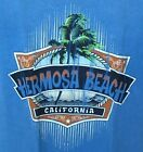 Mens Hermosa Beach Palm 100% Cotton Tee Shirt