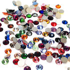 Swarovski 2058/2088 crystal flatbacks rhinestones mix colors ss5-ss30 nail art
