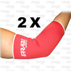 HAND ELBOW SAFETY PROTECTION BRACE SUPPORT RED