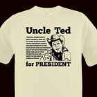 UNCLE TED FOR PREZ nugent PRO freedom gun TEE any size