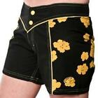 ROXY Black Cotton Shorts TUFF Boardies Surf Board RP£49